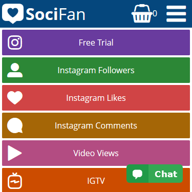 Buy Instagram Followers - Real & Instant Followers | SociFan