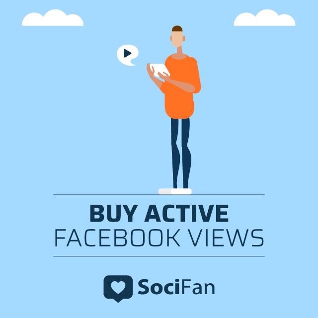 buy active facebook views