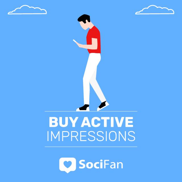 buy active instagram impressions