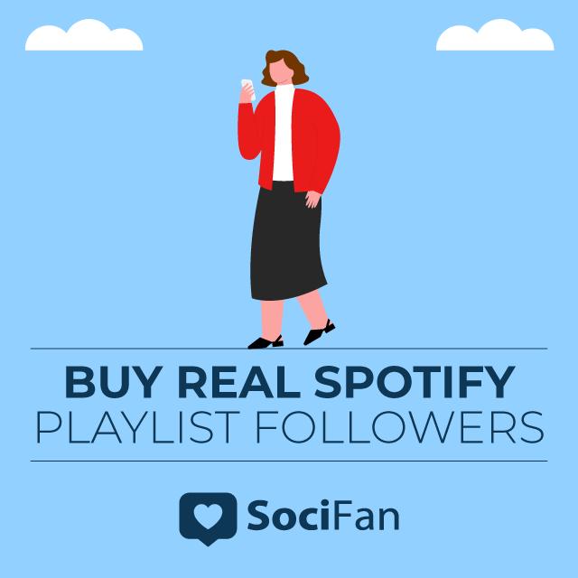 buy real spotify playlist followers