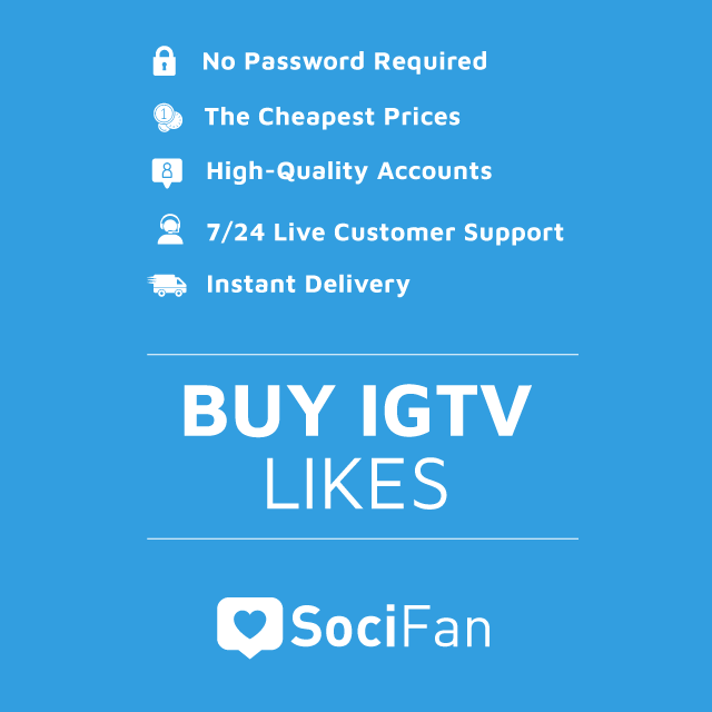 Buy Instagram IGTV Likes