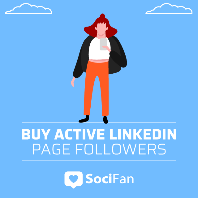 Buy Active Linkedin Page Followers