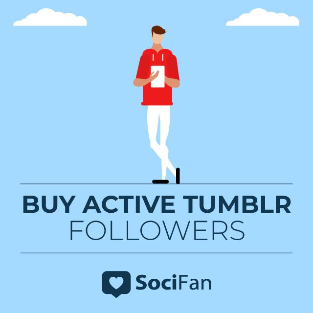 buy active tumblr followers