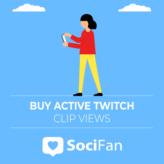 Buy Active Twitch Clip Views
