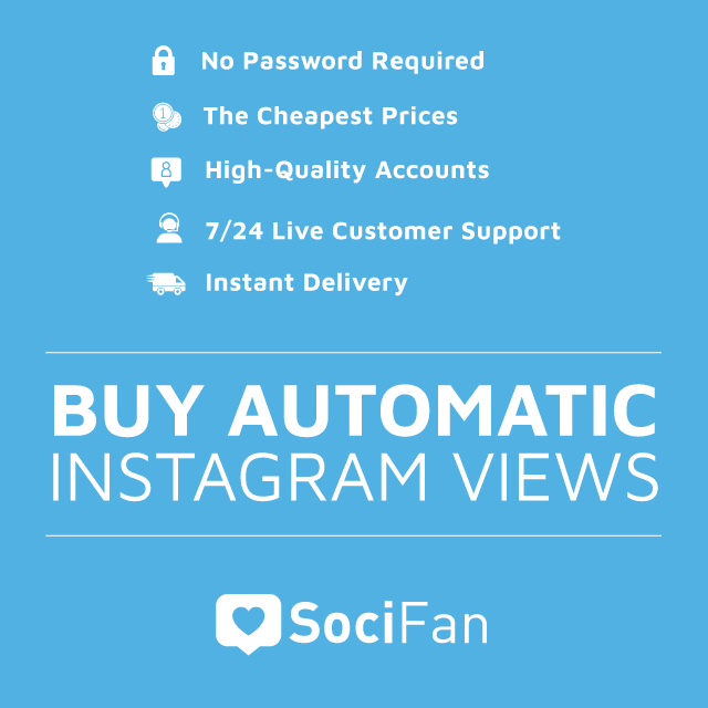 Buy Automatic Instagram Views