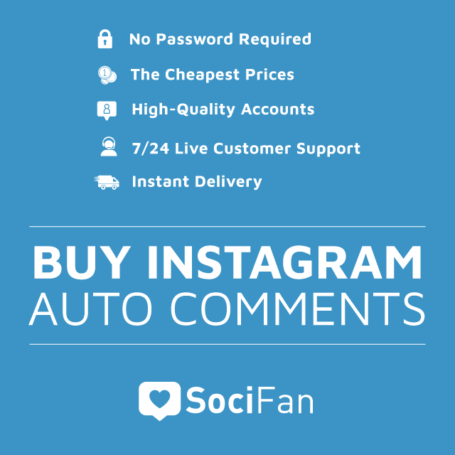 Buy Instagram Auto Comments