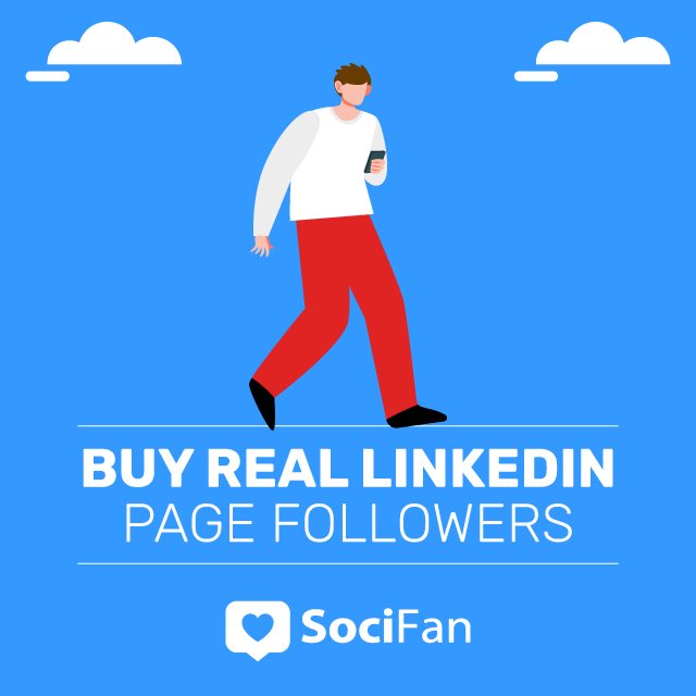 Buy Real Linkedin Page Followers