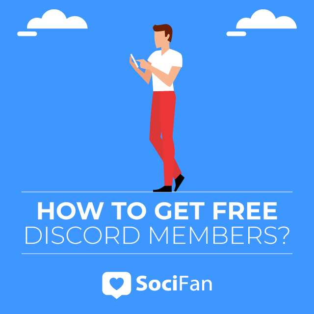 How to get free discord members