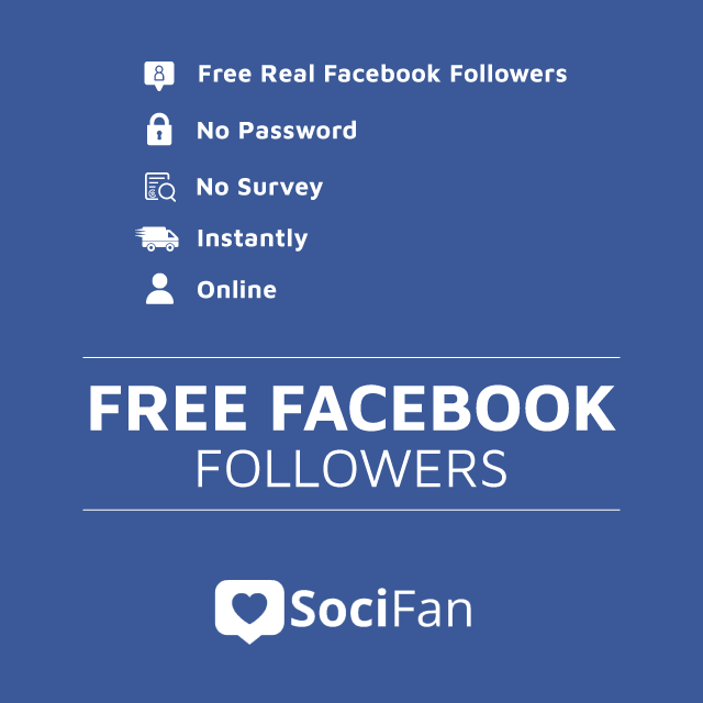 real free facebook followers